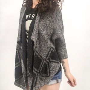 Madewell : Gray Heathered Open Front Cardigan XS/S